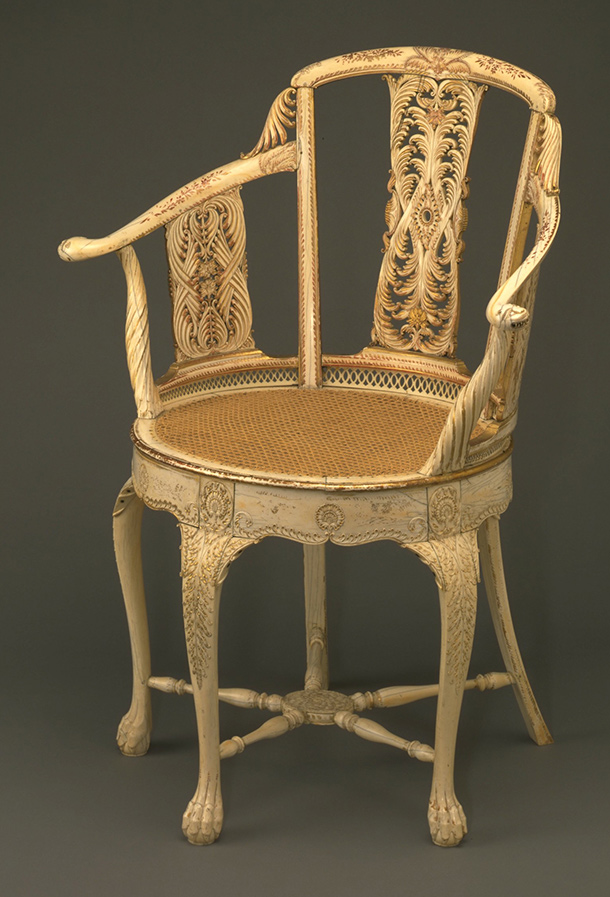 Audio East meets West  Ivory Chair  Victoria and Albert