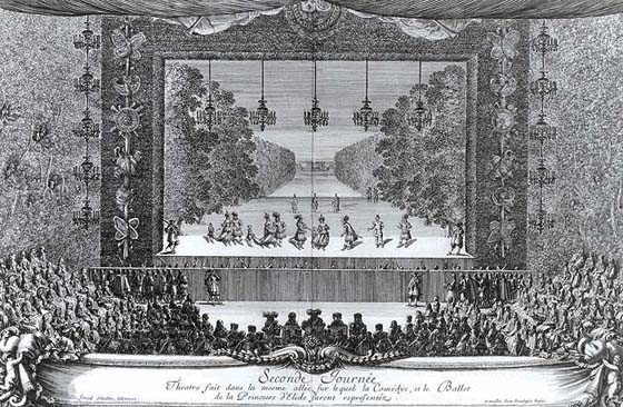 Image result for paris ballet 17th century