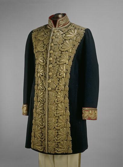 Napoleonic Gold Bee Fabric