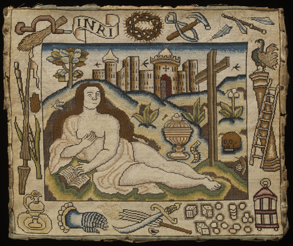 An Unusual Embroidery Of Mary Magdalene Victoria And Albert Museum