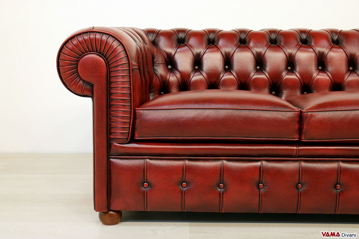 vintage leather sofa company how to make a simple red chesterfield monks the