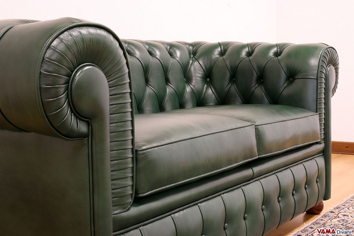 2 seater chesterfield sofa dimensions cotton velvet review price upholstery and