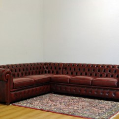 White Leather Chesterfield Corner Sofa Halo Chester Price Clearance