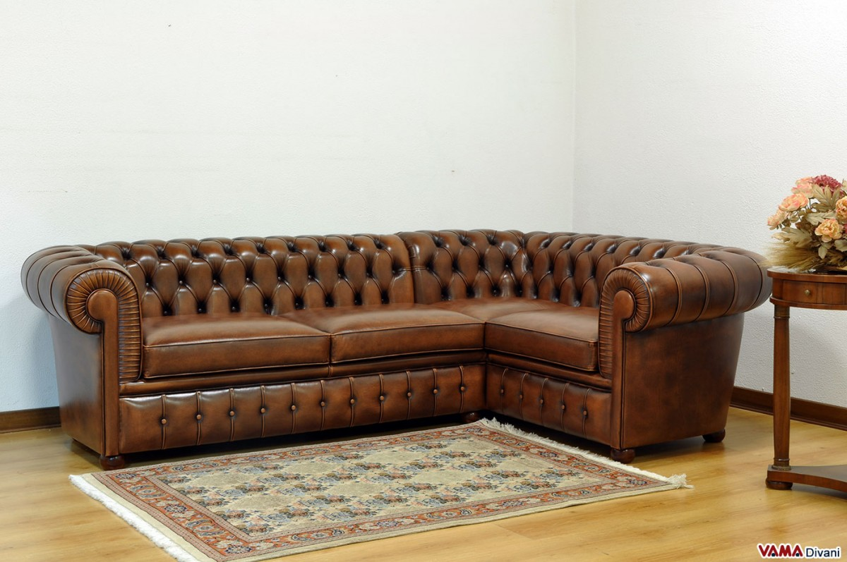 distressed leather corner sofa uk slide table plans chesterfield sofas