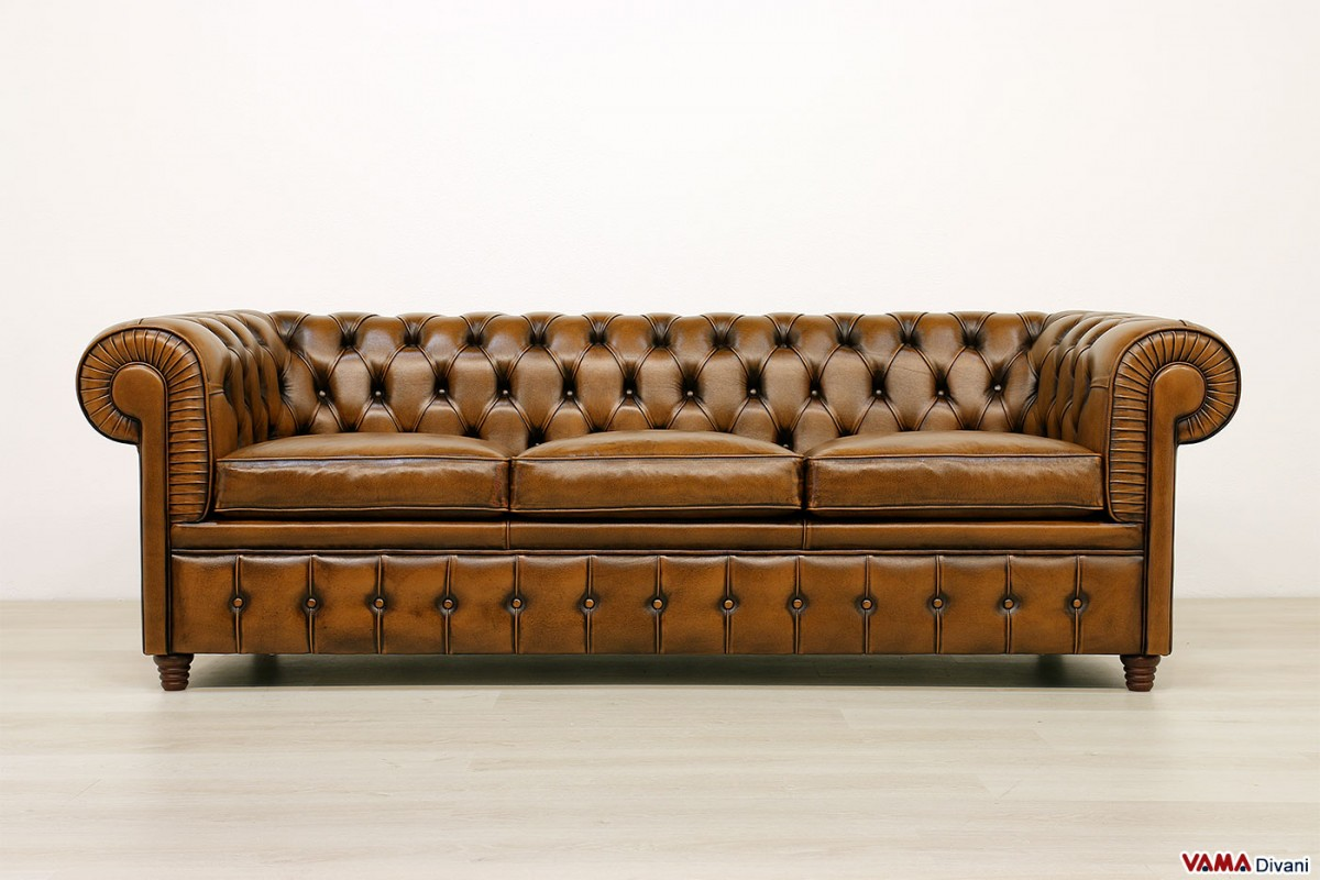 brown chesterfield sofa room and board with chaise home the honoroak
