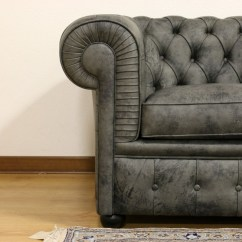 2 Seater Chesterfield Sofa Dimensions Grey Tufted Velvet Price Upholstery And