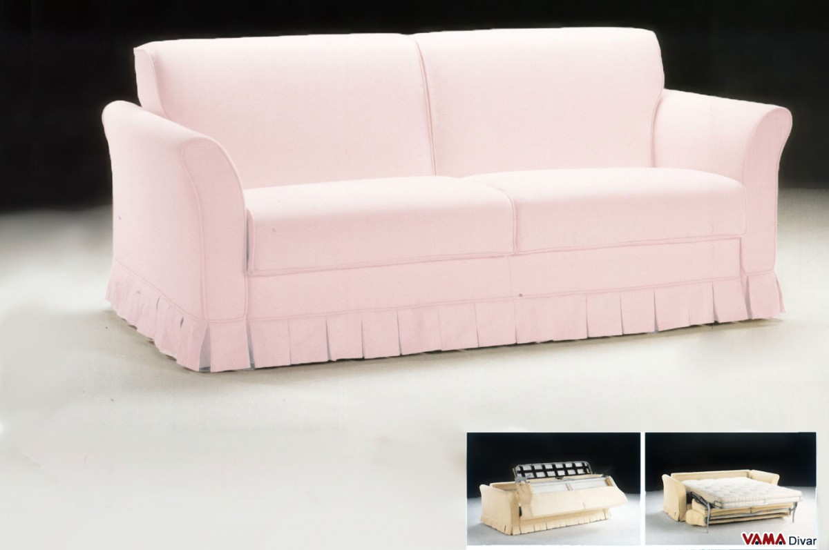 light pink sofa bed klippan 2 seat cover for best of childrens eye