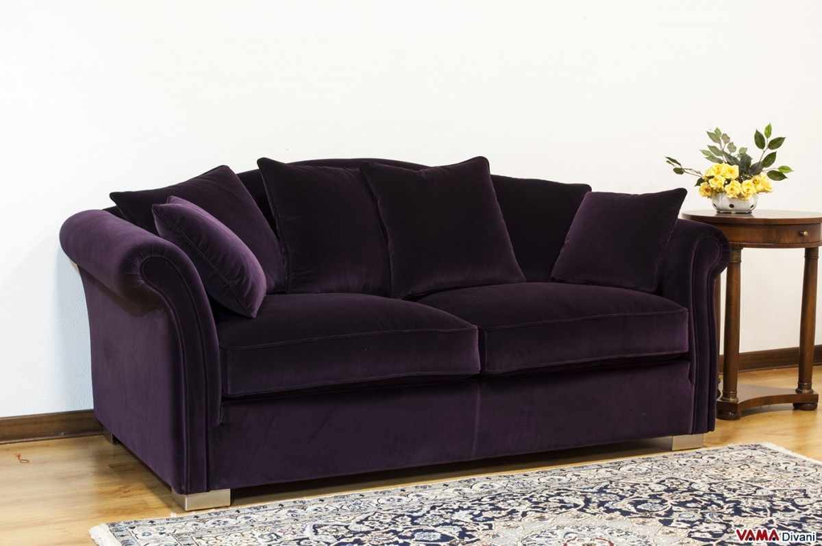 purple sleeper sofa slipcover slipcovers for sectional fabric removable cover characterised by a classic