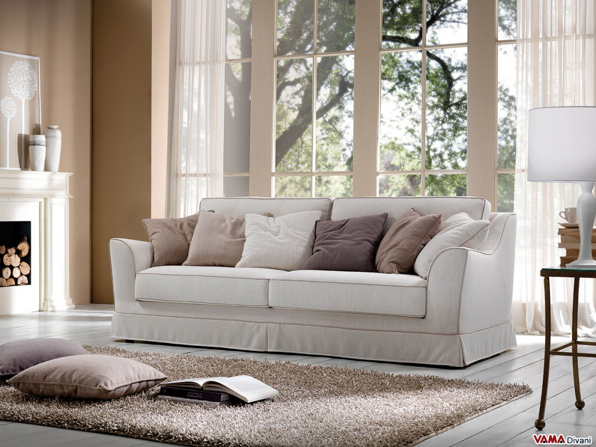 sofa classic small faux leather 2 seater fabric with removable cover characterised by
