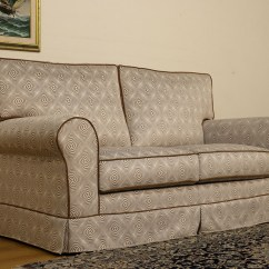Classic Sofa Cathedral Portsmouth Gray With Nailhead Trim Removable Cover Choose Your Own Custom