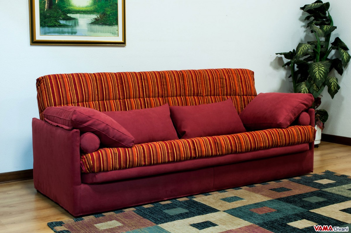 Folddown Sofa Bed with slatted base