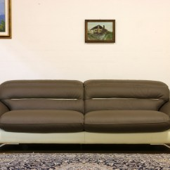 White Chesterfield 3 Seater Sofa Support Argos Contemporary Leather With Steel Feet