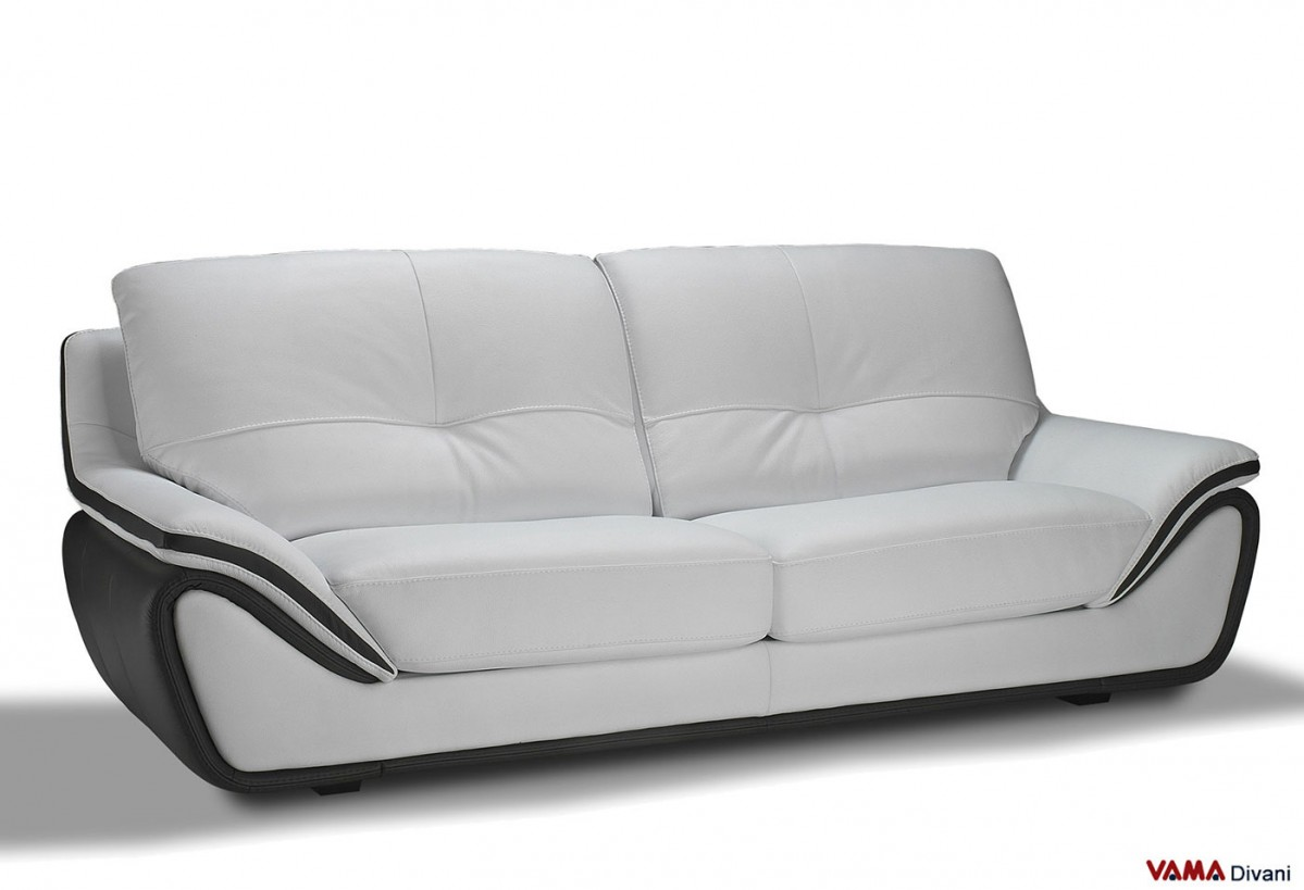 contemporary leather sofa bed sleeper sofas for sale near me white large and high back 3 seater two tone