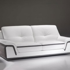 Modern Sofa Plans Free Raymour And Flanigan Reviews Contemporary In White Grey Genuine Leather