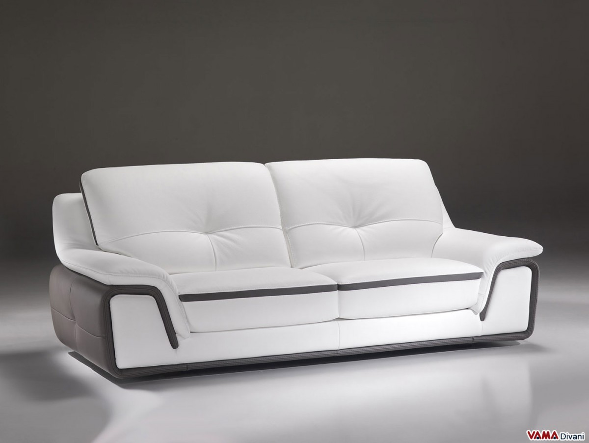 leather modern sectional sofa white outlet store contemporary in and grey genuine
