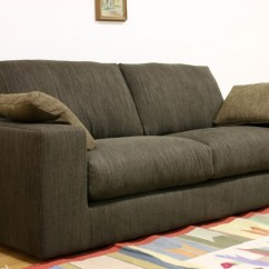 Contemporary Gray Fabric Sofa How To Clean Your Cushions Leather And Even Custom