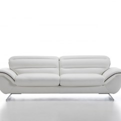 White Leather Sofa Cheap Designs Beds Home The Honoroak