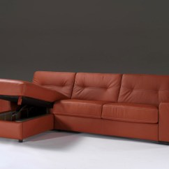 Modern Corner Sofa Bed With Storage Cushion Foam Online India In Leather