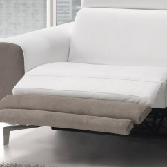 Hypnos Electric Sofa Bed The Leather Company Gvine With Recliner For Your Head And Feet