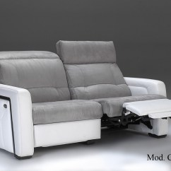Electric Sofa Set District San Jose Recliner Sofas In Leather