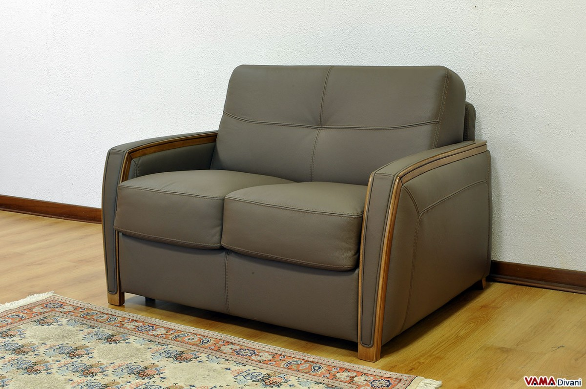 contemporary leather sofa bed brooklyn double