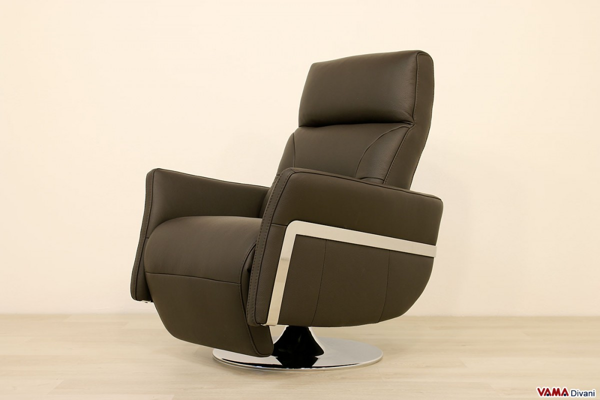 light brown leather reclining sofa durable set armchair in black with manual mechanism