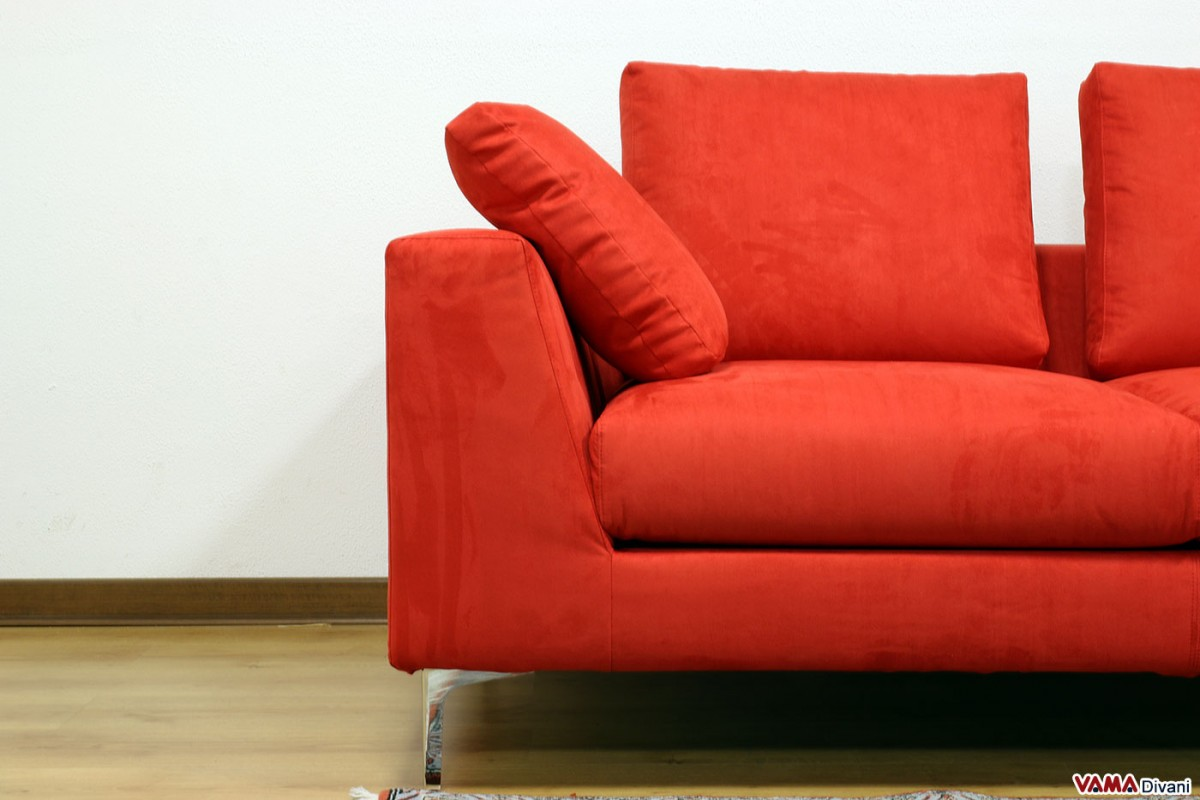contemporary fabric sofas great sofa squared and linear with high feet