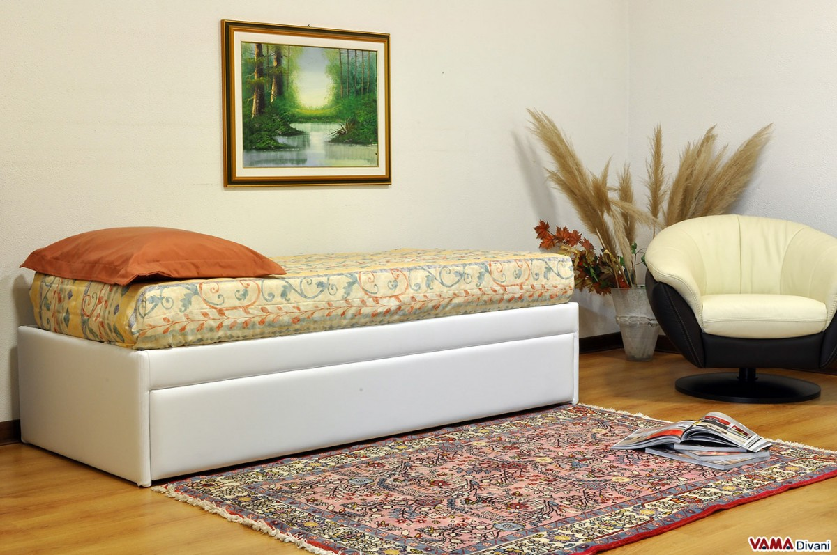 Pullout Guest Bed with slatted base