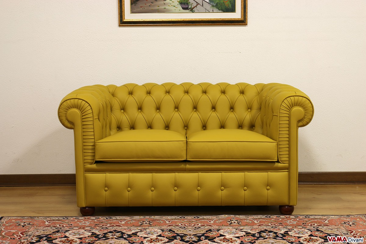 chesterfield style fabric sofa ashley living room sofas smaller sofa: chesterino