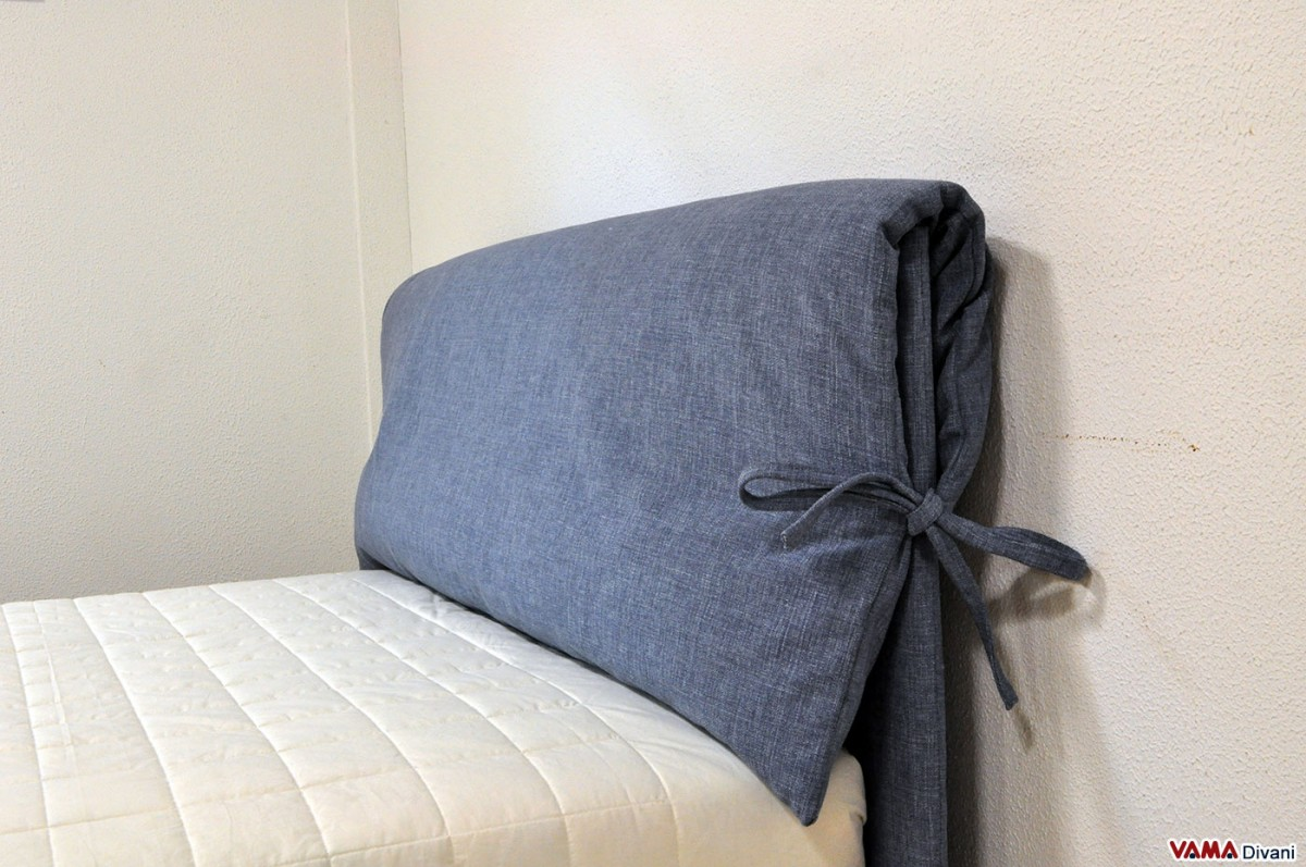 corner sofa cover design birmingham fabric bed with two upholstered cushions as headboard