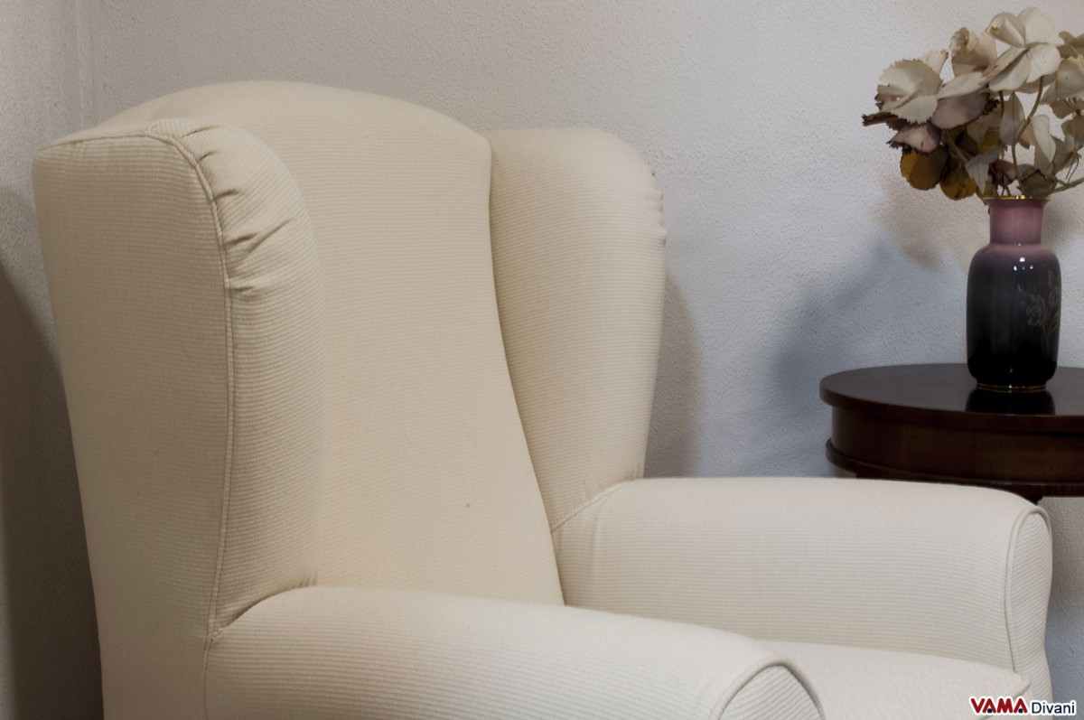 white armchair cover high back chair covers bergère with big ears and removable
