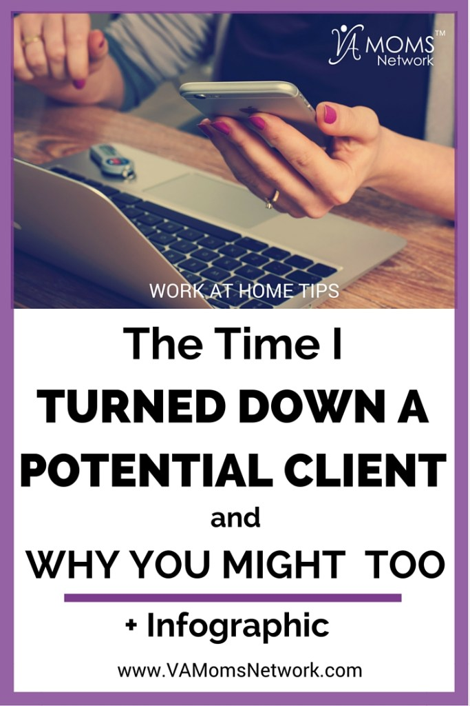 Why I Turned Down a Potential Client — and When You Might, Too