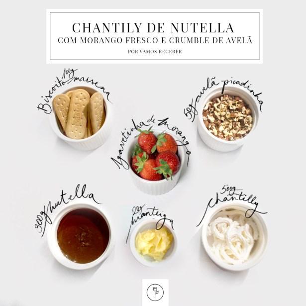 CHANTILLY DE NUTELLA