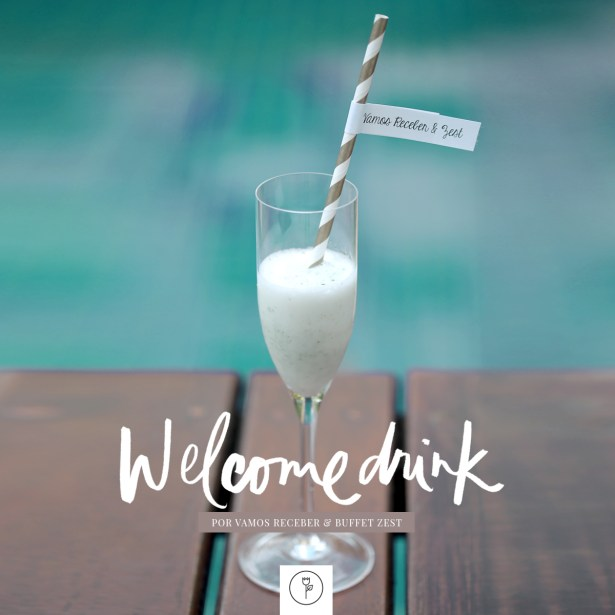 welcome drink banner