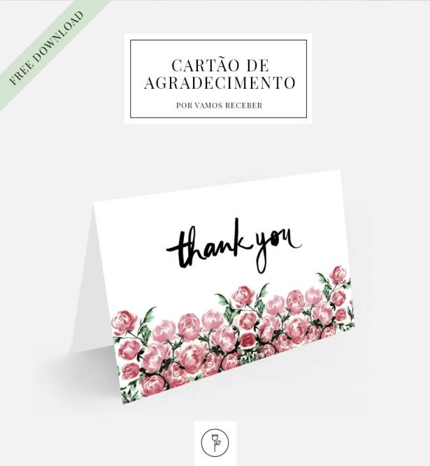 cartao de agradecimento