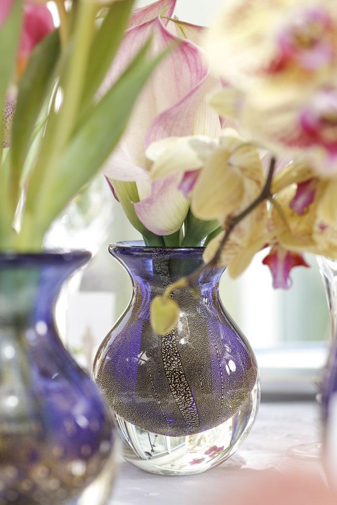 Vasos de cristal Ca D'oro