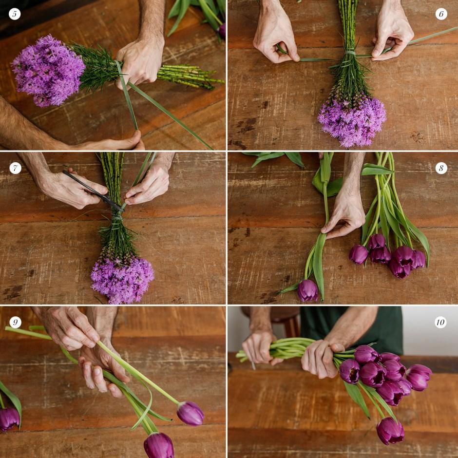 como montar arranjo de flores Milplantas