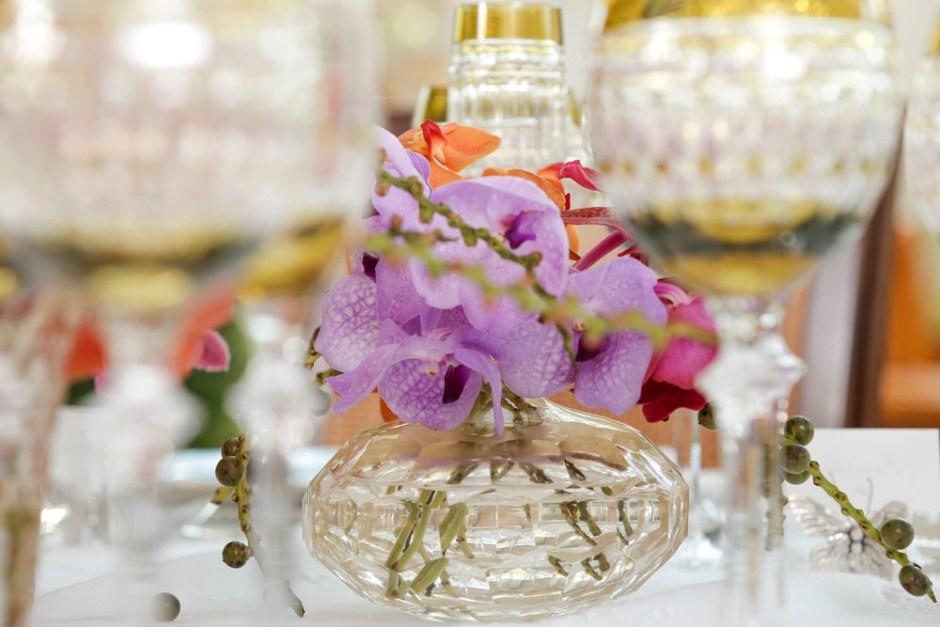 vaso murano transparente