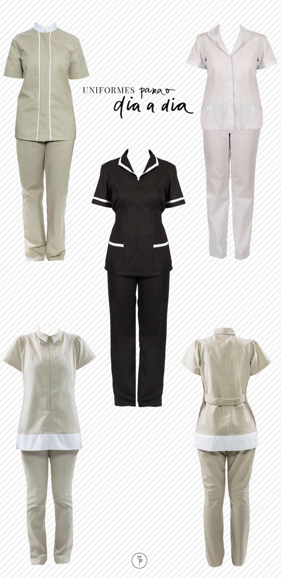 uniformes de casa para o dia a dia