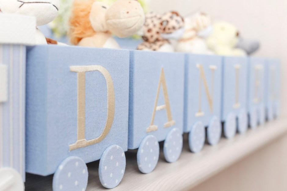 trem para decorar quarto de menino