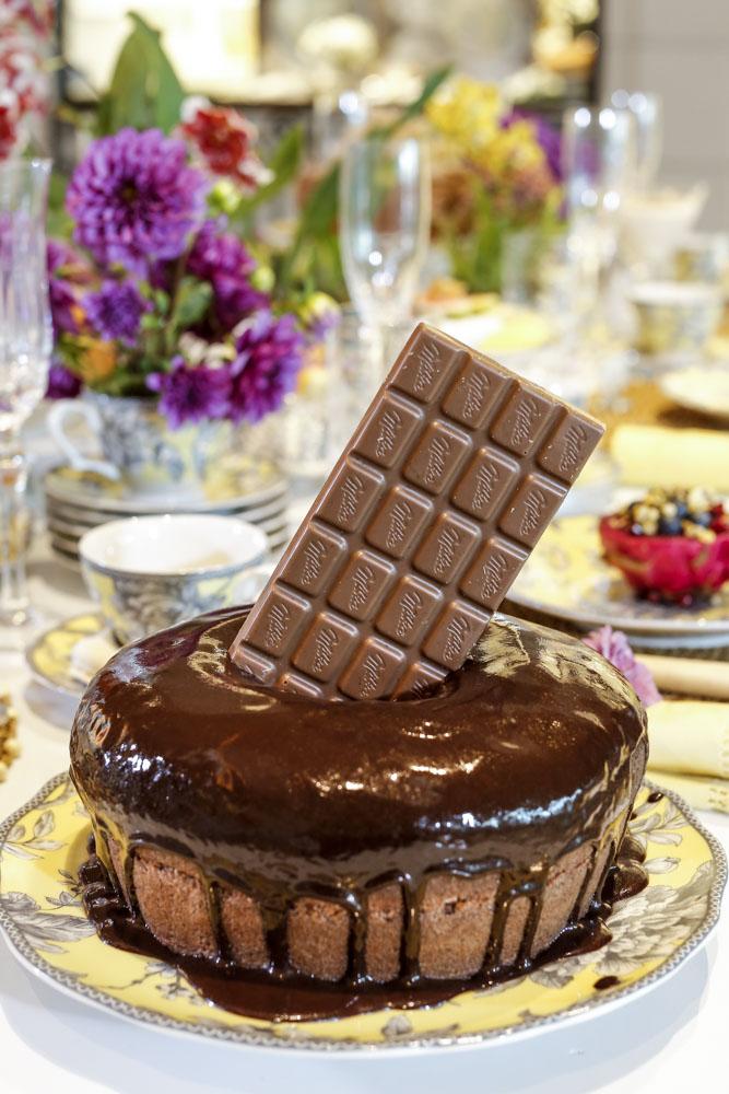Bolo de chocolate irresistível da Duas Gastronomia
