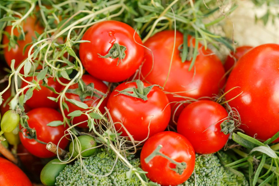 tomates para decorar