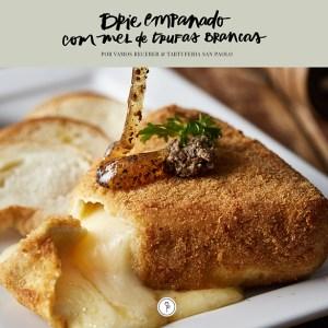 receita de brie empanado