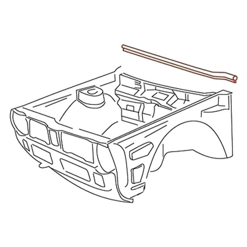 Joint rebord de tablier avant Volkswagen Caddy I/Golf I