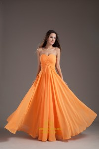 Dark Orange Bridesmaid Dresses - Junoir Bridesmaid Dresses