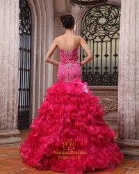 Pink Quinceanera Dresses From Mexico For Sale,Hot Pink ...