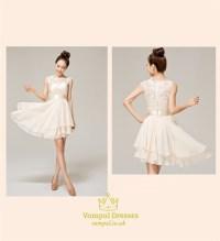 Lace Chiffon Bridesmaid Dresses,Lace Short Bridesmaid ...