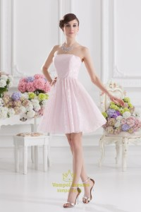Light Pink Bridesmaid Dresses | Vampal Dresses