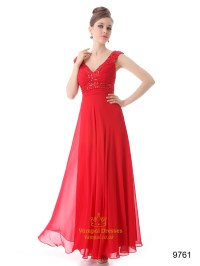 Red Prom Dresses With Straps,Mother Of The Bride Dresses ...