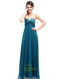 Teal Bridesmaid Dresses Beach Wedding Long,Teal Dresses ...